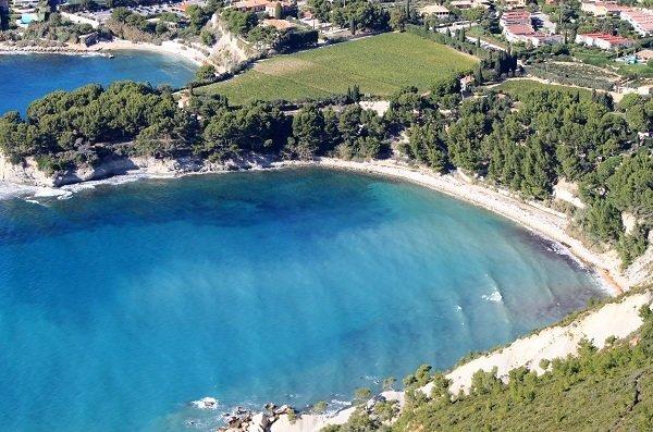 Spiaggia della Arene a Cassis