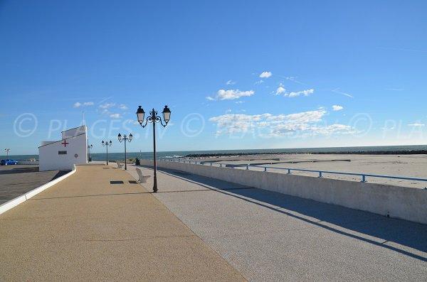 Lungomare pedonale Saintes Maries de la Mer