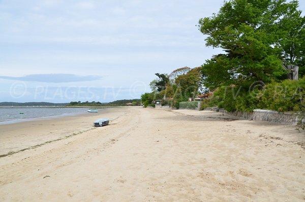 Photo de la plage d'Arès secteur de Garguehos