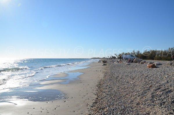 Wild beach in Frontignan - Aresquiers