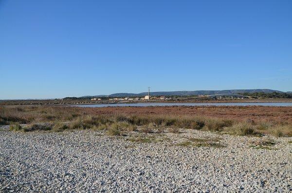 Pont de Frontignan à côté de la plage des Aresquiers