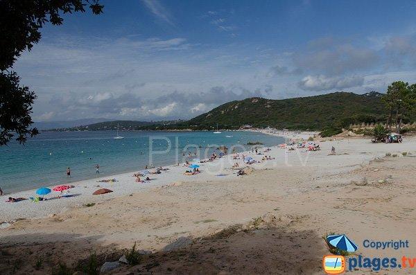 Photo of Argent beach in Corsica (Coti Chiavari)