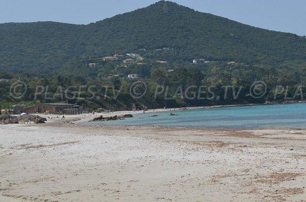 Argent beach in Coti-Chiavari