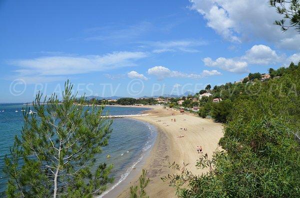 Spiaggia dell'Argentière a La Londe les Maures - Francia