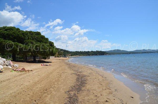 Limite entre la plage Est et Ouest de l'Argentière à La Londe