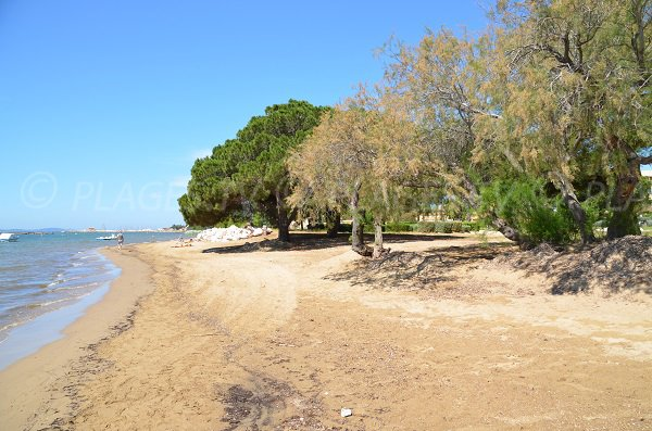 Kite surf area in La Londe les Maures