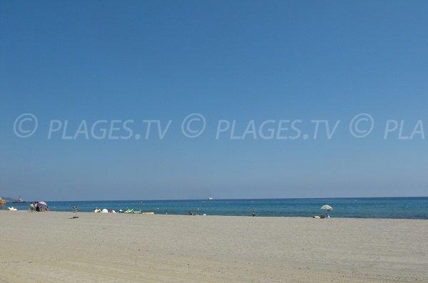 Spiaggia di sabbia a Bastia