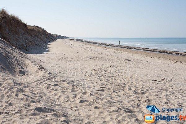 Photo de la plage d'Armanville à Pirou