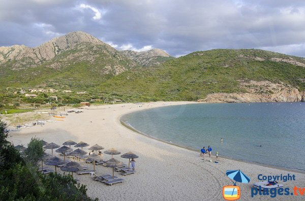 Private beach of Arone - Piana