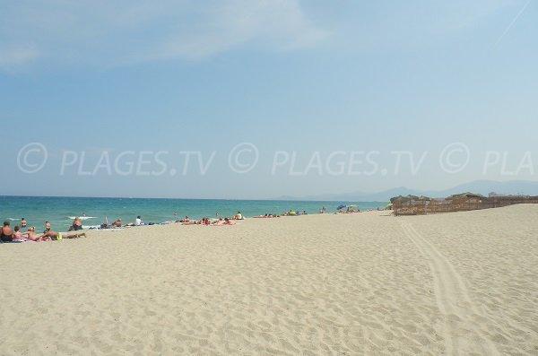Plage privée à St Cyprien - Plage Nord