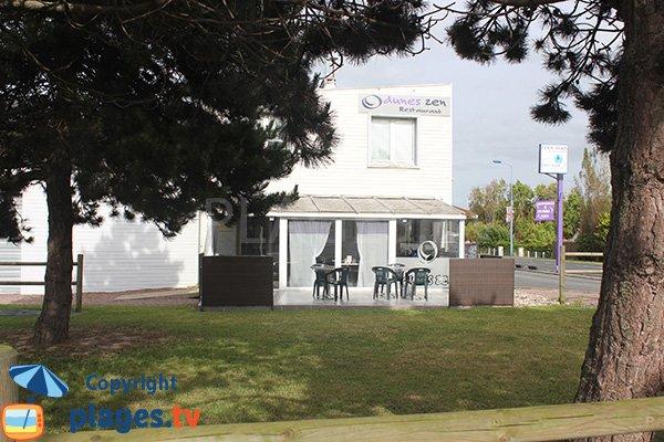 Restaurant near Asnelles beach