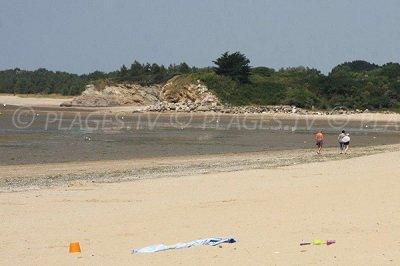Plage d'Assérac dans la Loire Atlantique (44)