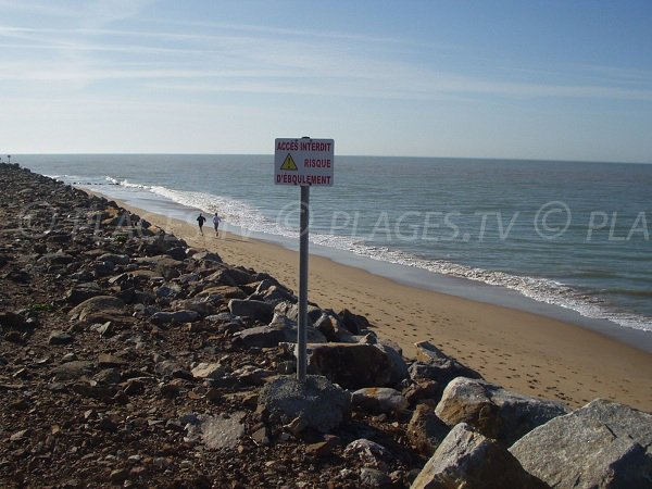 Photo of Atlantic Beach in La Tranche in France