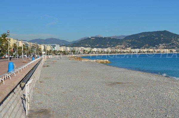 Plage Aubry Lecomte à Nice