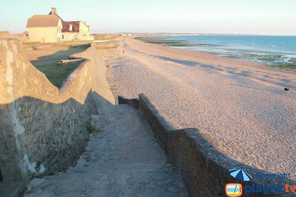 Photo de la plage d'Audresselles