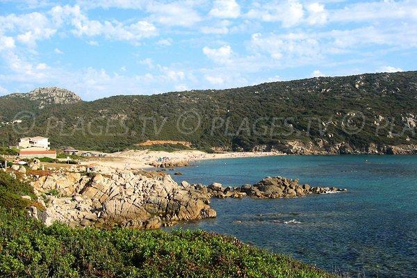 Avena beach in Sartène - Corsica
