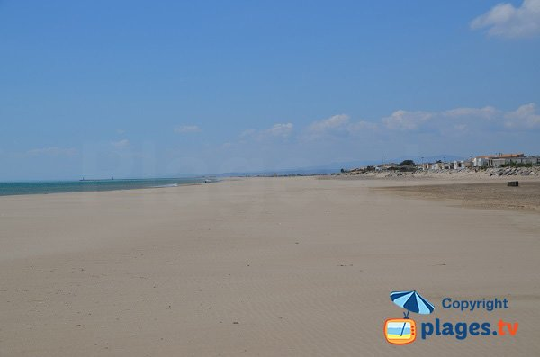 Photo of Ayguades beach in Gruissan - France