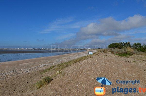 Photo de la plage d'Aytré en Charente Maritime
