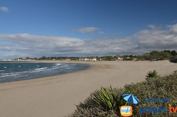 Photo de la plage de la Baie de l'Amitié au Cap d'Agde