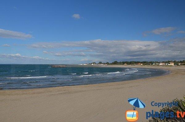 Baie de l'Amitié à Agde et sa plage