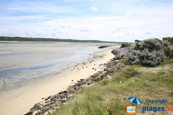 Spiaggia nella baia di Canche - Le Touquet
