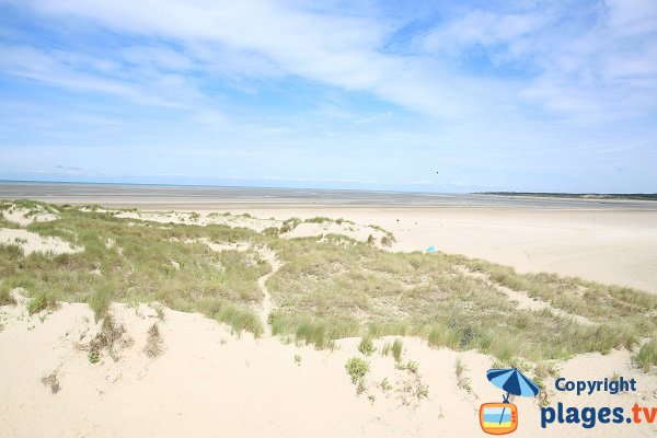 North beach in Le Touquet - La Canche