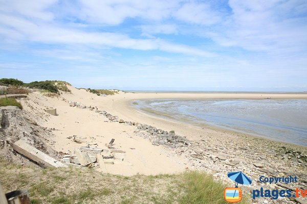 Bay Of Canche Beach In Le Touquet Paris Plage Pas De