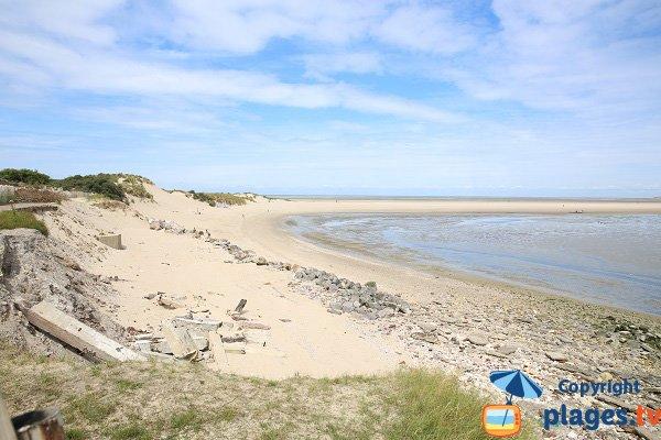Photo de la plage de la Baie de Canche au Touquet