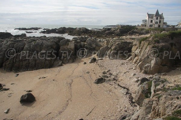 Photo de la plage dans la baie de Douillard - Le Croisic