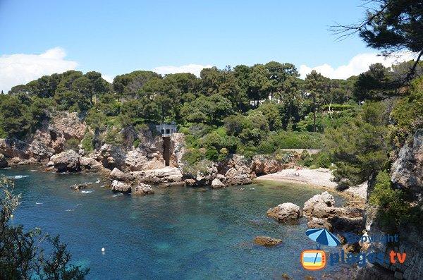 Foto della cricca della Baia dei Miliardari del Cap d'Antibes - Francia