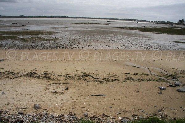 Traict of Pen-Bé at low tide - Asserac
