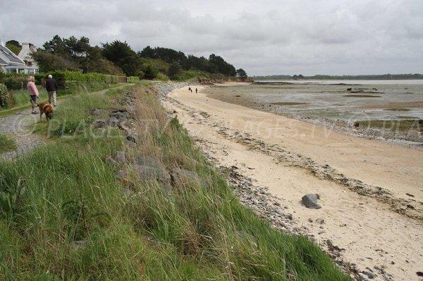 Pen-Bé beach in Assérac in France