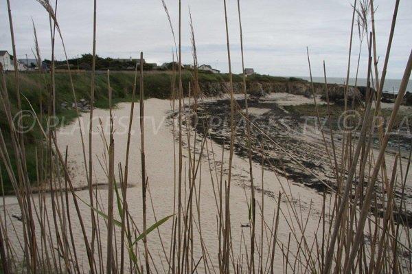 Spiaggia della Baia di Scall a Le Pouliguen