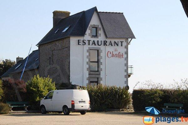 Restaurant proche de la baie de Ste Anne