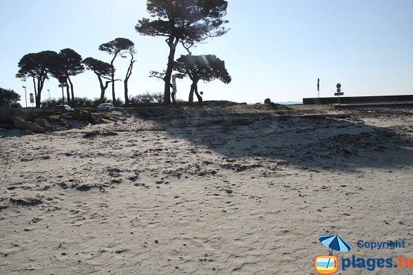 Photo de la plage dans la baie de Ste Anne à St Pol de Léon