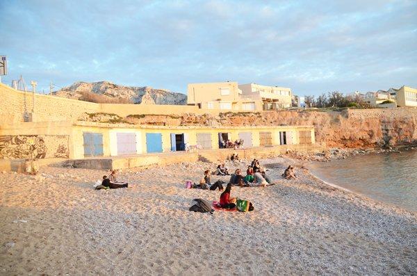 Photo of Bain des Dames beach in Marseille