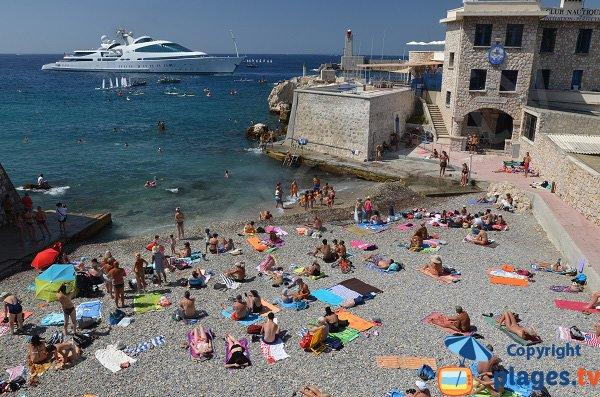 Photo de la plage de Brice de Nice