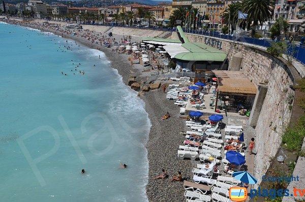 Foto spiaggia di Bains della Polizia a Nizza