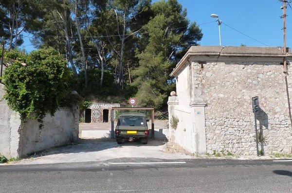 Parking gratuit de l'anse de Balaguier à La Seyne sur Mer