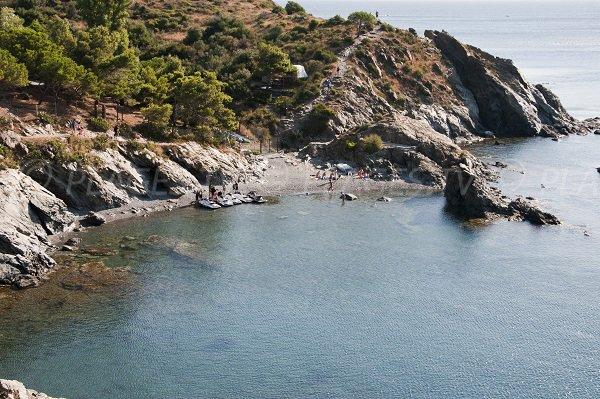 Photo de la plage de Balanti à Port Vendres