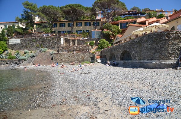Photo of Balette beach in Collioure in France