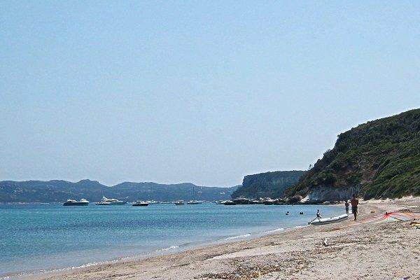 Partie sud de la plage de Balistra - Bonifacio