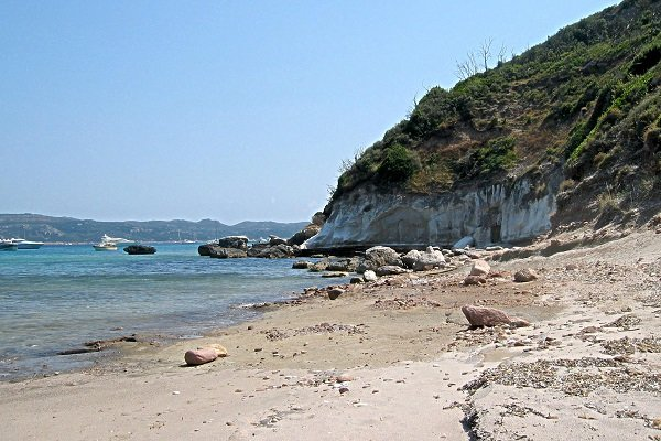 Falaises de la plage de Balistra - Bonifacio