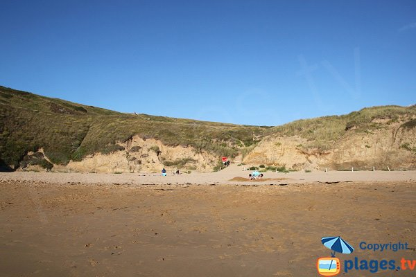 Dunes of Baluden beach - Belle-Ile