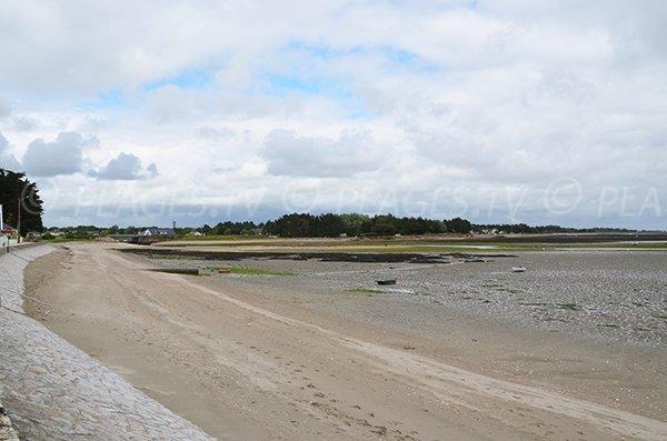 Photo de la plage de Banastère à Sarzeau