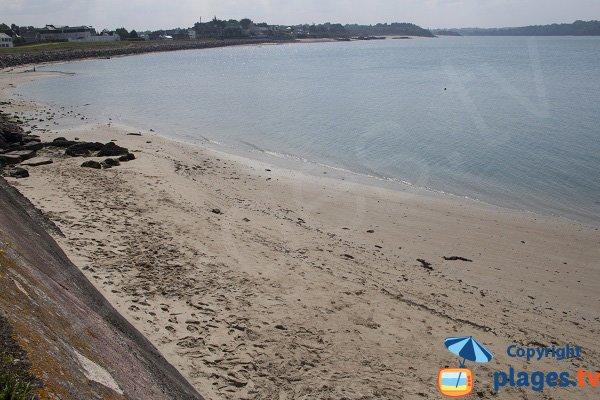 Sud de la plage de la Banche à St Jacut
