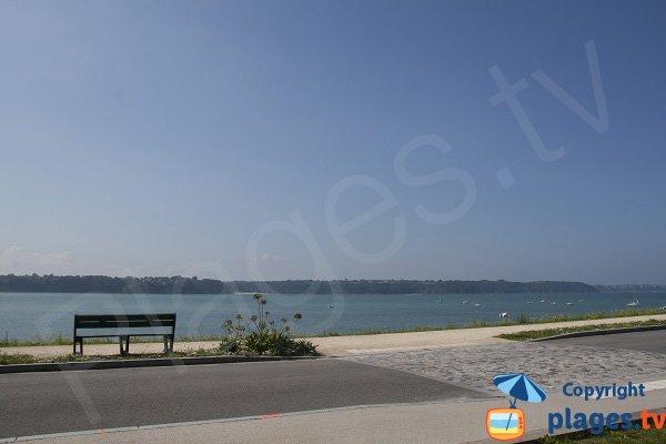Esplanade de la plage de la Banche - St Jacut de la Mer