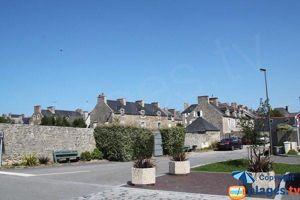 Centre ville de Saint Jacut de la Mer