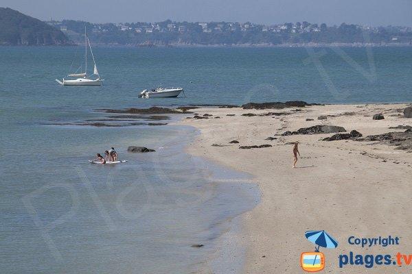 Photo de la plage de la Banche à St Jacut de la Mer