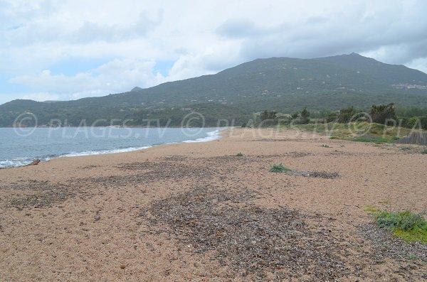 Baracci beach in Olmeto - Corsica